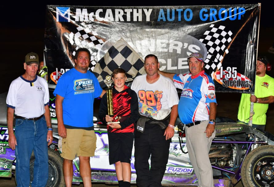 New Winners and Familiar Faces Visit Victory Lane on Pro-Ag Night at the Races