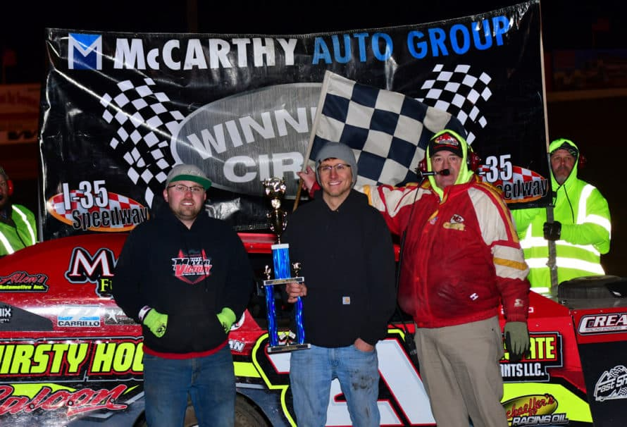 Tompkins Industries Night at the Races: Race Results 3/31/2018