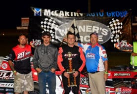 Elliott, Dixon, Harris, Noll and Mercer Among Winners on Tompkins Industries Night at the Races