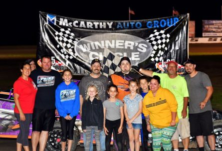 Dotson, Elliott, Galvan and Others Out Duel the Rest on Earley Tractor Night at the Races