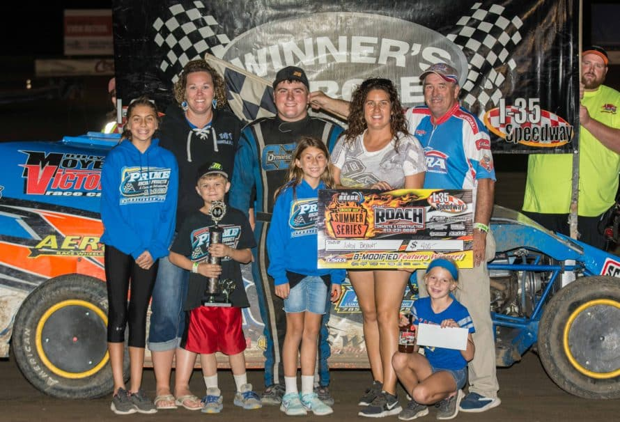 Reed, Bryant, Heeter and Nunninkhoven Race to Victory on Kaster Celebration Night at the Races