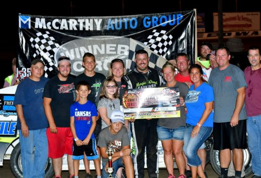Elliott, Heeter, Smith Take Victories on Motorcycle Closeouts Night at the Races