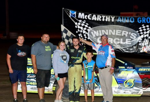 Martin, Whalen and Bryant Winners on Night Number Four of the Smokin' Hot Summer Series; Galvan, Morrison, Leal, Willard, Cadwallader, Griggs and Lefholz also Winners on Earley Tractor Night
