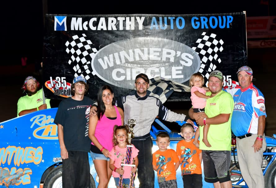 Fuqua, Royalty, Dixon and Mercer's Fireworks on Track Lead to Victories on Pro Ag Night at the Races