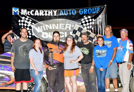 Elliott, Dixon, Galvan and Stockton All Victorious on Trenton Coca-Cola Night at the Races