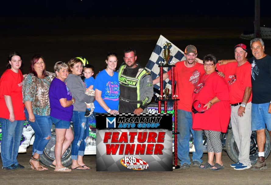 Daniel Harris Earns Bud Wilson Memorial Checkered Flag